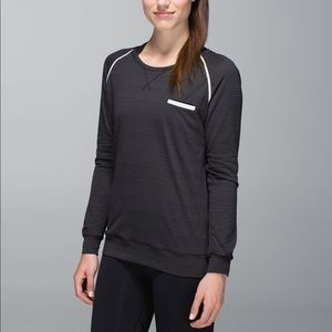 Lululemon Long Sleeve Striped Reflective Top